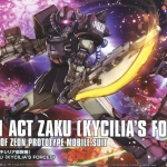 Act Zaku (Kycilia`S Forces) (HG)