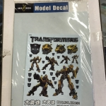 Model Decal 1030 (Bumblebee)