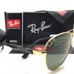 แว่นกันแดด RayBan RB 8395 001/82 58-11 <ทอง Polarized>