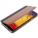 Rosewood Magnet case เคส Samsung Galaxy Note 3 (III) / N9000 ซัมซุง กาแล็คซี่ โน๊ต 3