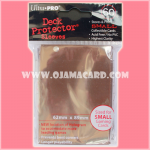 Ultra•Pro Small Deck Protector / Sleeve - Brown 60ct