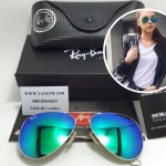 RB 3025 AVIATOR LARGE METAL 112/19 58-14 2N <ปรอทเขียว>