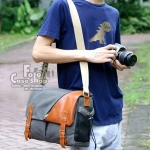 Canvas Slant Bag Medium size (CM-001)