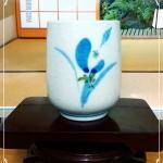 ถ้วยชาญี่ปุ่น Sei ลายดอกไม้ญี่ปุ่น Japanese Flowers