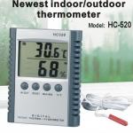 HY04-เครื่องวัดอุณหภูมิ/ ความชื้น แบบภายในและภายนอก Hygro-Thermometer HC520