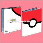 Ultra•Pro Pokémon Poké Ball 4-Pocket Portfolio