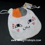 ถุงผ้าหูรูด แมวน้อย เนียนโกะ เซ็นเซย์ (ซื้อ 12 ชิ้น ราคาส่งชิ้นละ 100 บาท)
