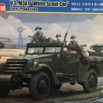 "1/35 U.S. M3A1 ""White Scout Car"" Early Production [Hobby Boss]"