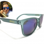 แว่นกันแดด Glassy Sunhaters Matte Grey/Blue Mirror 54-18 140 <ปรอทน้ำเงิน>