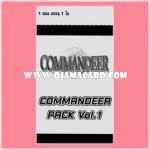 COMMANDEER Pack Vol.1 - Booster Pack