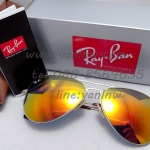 Ray Ban Aviator Flat Metal RB3513 ปรอมส้ม