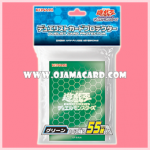 Yu-Gi-Oh! ARC-V Duelist Card Protector Sleeve - Green 55ct.