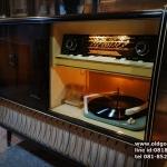 วิทยุหลอด console kuba ปี1958 รหัส18460kc
