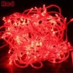 LED ไฟหยดน้ำ 10m. สี RED
