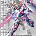 Unicorn Gundam (Red / Green Twin Frame Edition) Titanium Finish (MG)