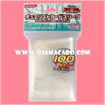Yu-Gi-Oh! ZEXAL OCG Duelist Card Protector / Sleeve - Silver x100