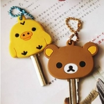 Rilakkuma Key Chain พวงกุญแจใส่หัวกุญแจ Rilakkuma (ซื้อ 6 ชิ้น ราคาส่งชิ้นละ 55 บาท)