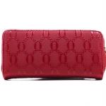 Lucky Wallet กระเป๋าโชคดีสีแดงรับทรัพย์คนเกิดวันพฤหัสบดี มีช่องซิปใส่เหรียญในตัว ใส่มือถือได้