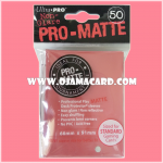 Ultra•Pro Pro-Matte Standard Deck Protector / Sleeve - Red 50ct.