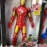 Superhero - Ironman แขนขา ขยับได้ กดที่อกมีไฟกับเสียง สูงประมาณ 12 นิ้ว งานสวยนะคะ