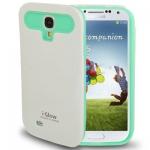 Case เคส i-Glow 2-color (Plastic + Silicone) Samsung Galaxy S 4 IV (i9500) redictshop