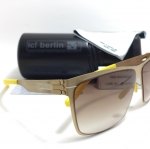 แว่นกันแดด ic berlin model siviob matt gold 62-12 <ทอง>