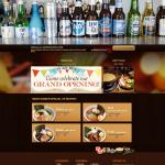 บริการออกแบบเว็บไซต์ ตัวอย่างเว็บเขียน www.shorisushi.com