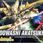 HG SEED (40) 1/144 OOWASHI AKATSUKI + Base