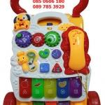 รถเข็นเด็กผลักเดิน โทรศัพท์ ของเล่นมากมาย