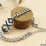EXO Fanclub Silver Bracelet สร้อยข้อมือสีเงิน สัญญลักษณ์วง EXO