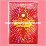 Yu-Gi-Oh! ZEXAL OCG Duelist Card Protector / Sleeve - Red Emperor's Key 80ct. 98%
