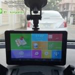 """GPSนำทาง Android 7.0"""" รุ่น M515 CPU QuardCore 1.3GHZ มีกล้องหน้า 512 RAM + Bluetooth+wifi+AV-IN (สีเทา)"""
