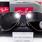 RB 3025 AVIATOR LARGE METAL 001/57 58-14 <โพราไรซ์>