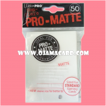 Ultra•Pro Pro-Matte Standard Deck Protector / Sleeve - White 50ct.