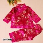 SN-YI006 เสื้อแขนยาว + กางเกง (80-130)