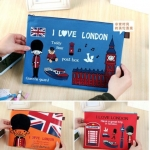 กระเป๋าใส่เอกสาร ใส่ของกระจุ๊กกระจิ๊ก สไตล์เกาหลี (ซื้อ 3 ชิ้น ราคาส่ง 70 บาท/ชิ้น)