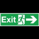 ป้าย Exit (ขวา)
