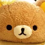 Rilakkuma Fluffy Cushion หมอนอิงหน้าน้องหมีนุ่มนิ่ม (ซื้อ 3 ชิ้น ราคาส่งชิ้นละ 420 บาท)