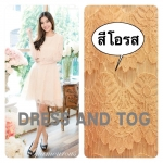 Glamorous Alice lace dress สีโอรส