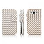 Case ENKAY Plum Blossom Samsung Galaxy S 3 III (White)