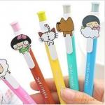 ปากกา สไตล์เกาหลี ลายใหม่ (ซื้อ 12 ชิ้น ราคาส่ง 12 บาท/ชิ้น)