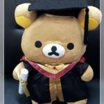 ตุ๊กตา Rilakkuma รับปริญญา ขนาด 16 นิ้ว(ซื้อ 3 ตัว ราคาส่งตัวละ 450 บาท)