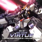 HG OO (06) 1/144 GN-004 Gundam Virtue