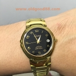 CADET QUARTZ SWISS SAPPHIRE WATER RESIST new old stock รหัส14959cq
