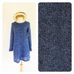 Knitted long sleeve dress (ลดราคาต่ำกว่าทุน)