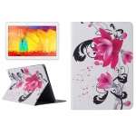 Flower Pattern Protective Case Samsung Galaxy Note 10.1 (2014 Editon) / P600