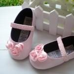 BE2027 (Pre) รองเท้าผ้า สาวน้อย (0-1 ขวบ)