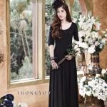 Lolita Maxi Dress - เดรสยาวสีดำ มี2ขนาด