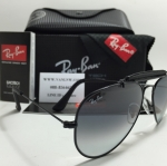 RB 3422Q Aviator Large Metal 002/32 58-14 2N <ดำ>