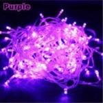LED ไฟหยดน้ำ 10m. สี Purple